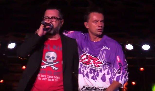 Группа Дискотека Авария на Байк Шоу в Севастополе, видео с концерта 2017 года