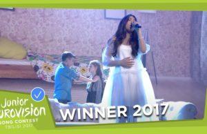 Полина Богусевич выиграла Детское Евровидение с песней «Крылья (Wings)»