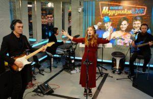 Юлия Савичева выступила на шоу «Мурзилки LIVE. Авторадио» - видео