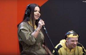 Бьянка спела вживую песню «Желтое Taxi» на Новом Радио