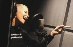 Дана Соколова заканчивает запись дебютного альбома