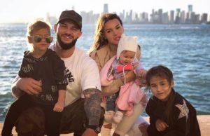 Джиган показал фото с отдыха в Майами с женой Оксаной и дочерьми