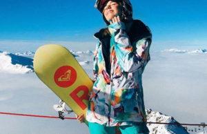 Юлианна Караулова отдыхает на горнолыжном курорте во Франции