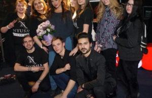 Певица Нюша выступила в программе «Живая среда» на «Новом радио».