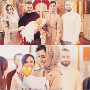 Мот и его жена Мария Мельникова показали фото с крещения сына