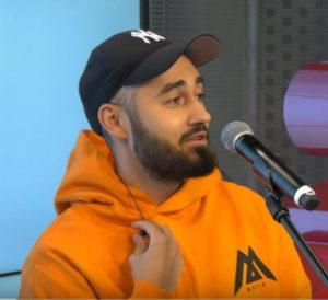 Мот спел три песни на шоу Black2White, Радио Energy