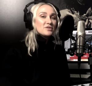 Ксана Сергиенко спела песню «Слеза» Егора Крида