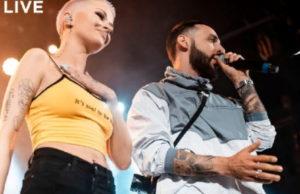 Дана Соколова и L'ONE - Голос, Live - видео с концерта