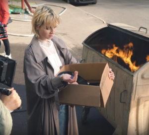 Вышла первая часть бекстейдж-видео со съемок клипа «Выше Головы» Полины Гагариной