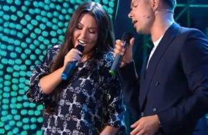 Ирина Дубцова и Стас Пьеха спели «Зависимы» на шоу «Привет, Андрей!»