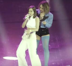 Вышло видео совместного выступления Елены Темниковой и Кати Иванчиковой с песней «Импульсы»