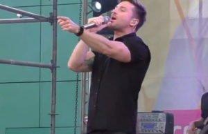 Сергей Лазарев выступил с концертом на дне рождения ТРЦ «РИО»