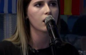 """Эльвира Т спела несколько песен на """"Авторадио"""", июль 2018 года"""