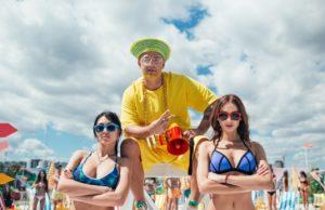 Клип группы MOZGI - Влажный пляжный движ - пляжная вечеринка с кучей красоток