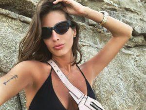 Кети Топурия отдыхает на острове Миконос