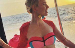 Клава Кока показала свою стройную фигуру в купальнике на Яхте