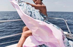 Ольга Бузова и Валентин искупались в море на первом свидании