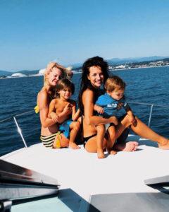 Фото с детьми Светланы Светиковой