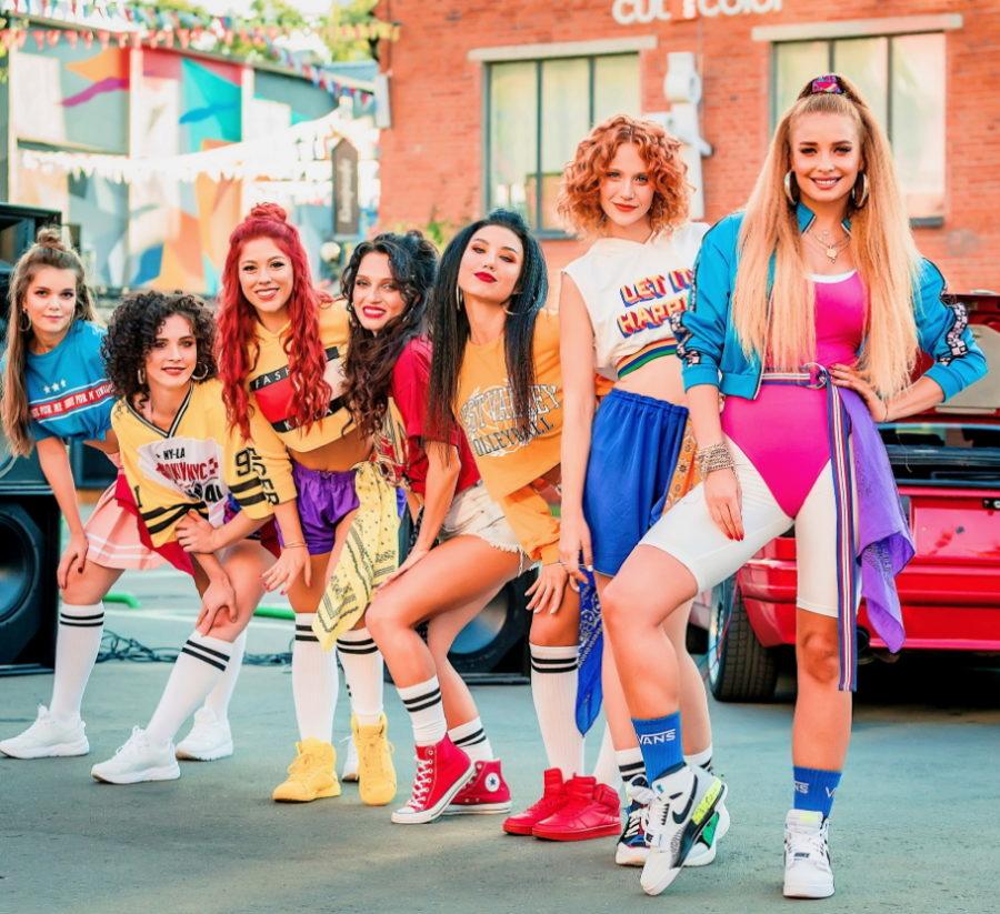 Клип Татьяны Котовой - Давай со мной, яркий летний клип с танцующими девушками