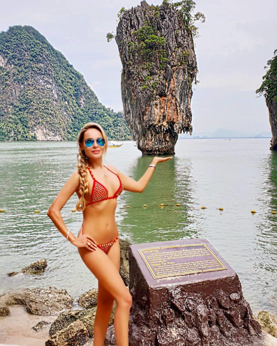 Анна Калашникова показывает красивую природу Таиланда