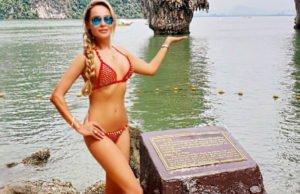 Анна Калашникова показала пляжные фото с отдыха Таиланде