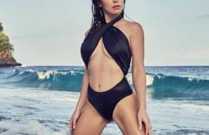 Ольга Серябкина показала несколько пляжных фото
