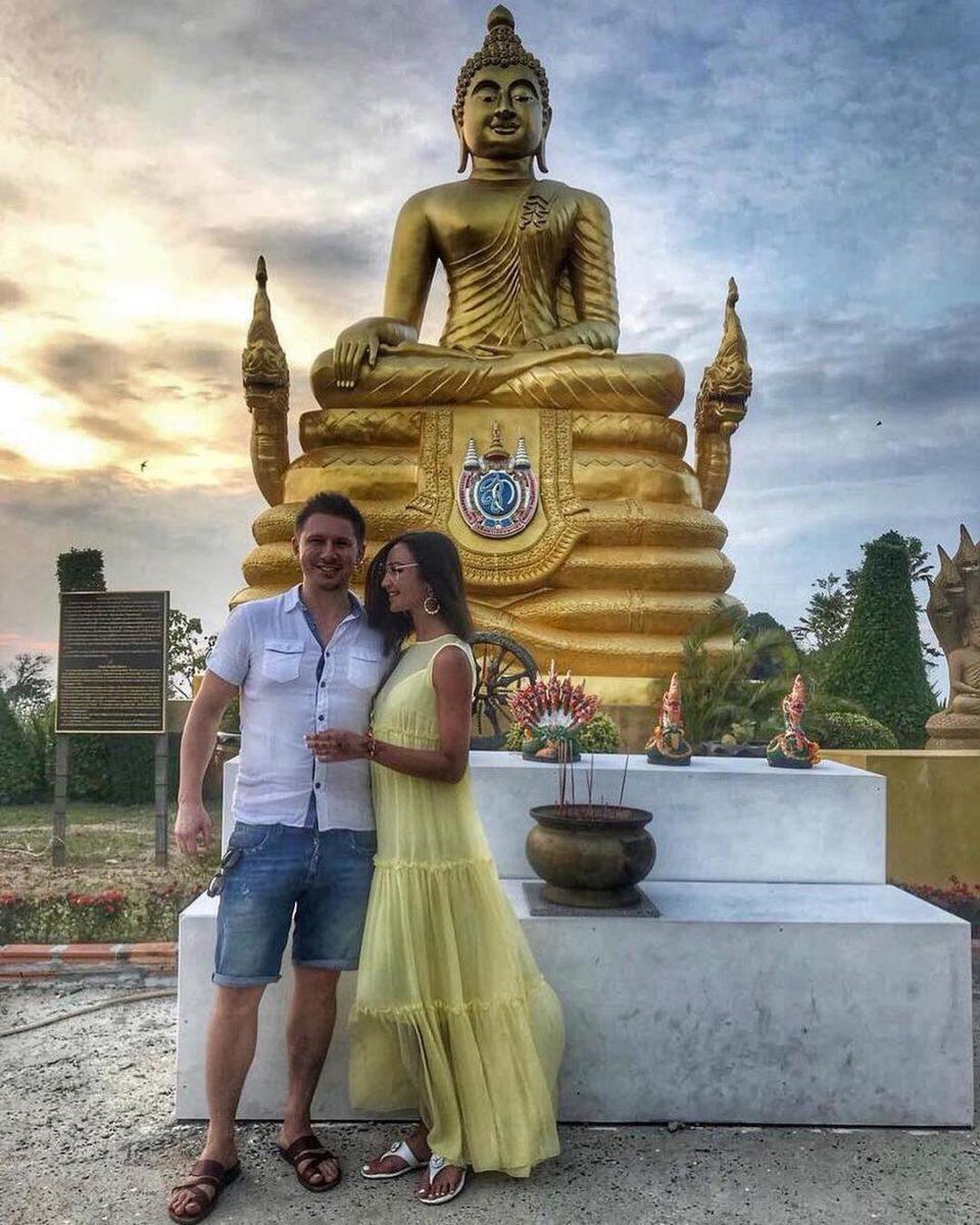 Ольга Бузова и Тимур Батрутдинов на отдыхе