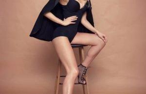 В черном боди и на каблуках — Эрика Герцег показала стильный образ
