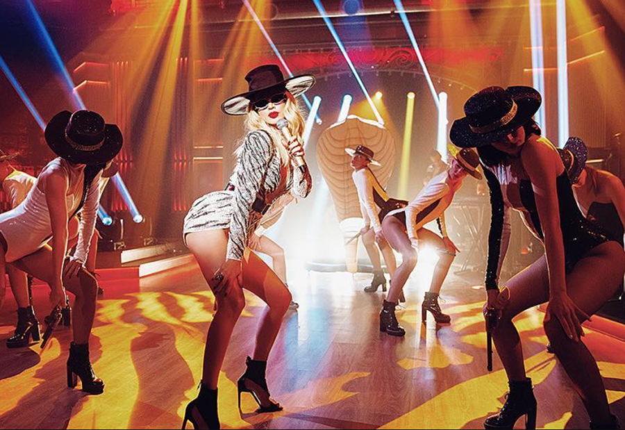Лобода показала красивый номер на шоу «Вечерний Ургант»