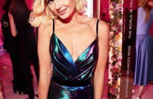 Полина Гагарина показала образ в коротком блестящем платье | Музолента