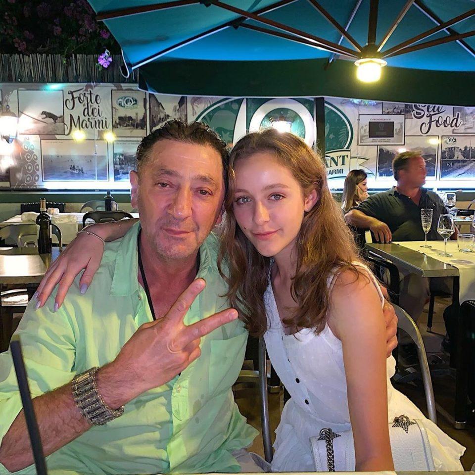 Григорий Лепс с дочерь Евой
