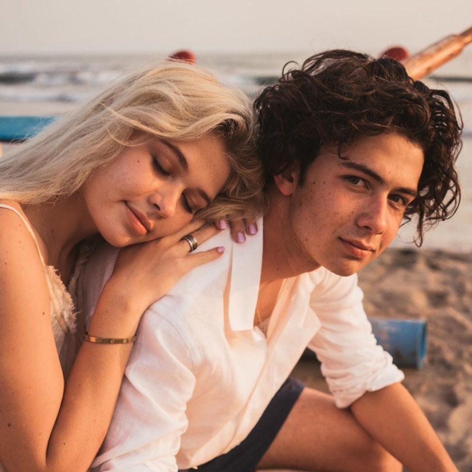 Романтическое фото Сони Киперман и Мэтта
