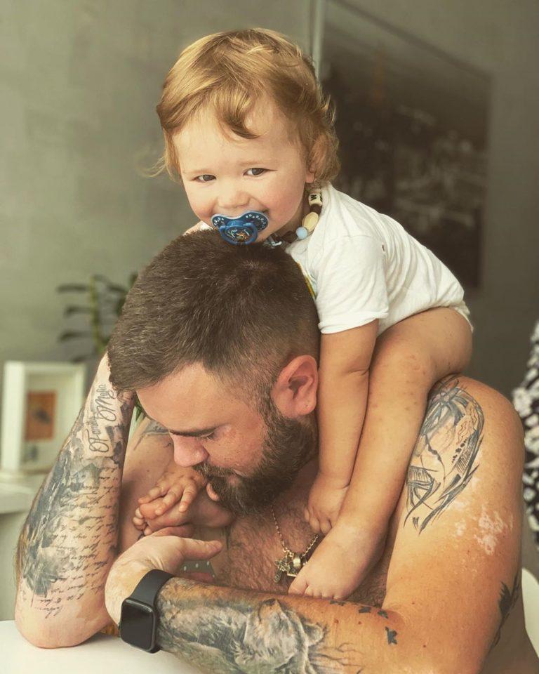 Муж и сын Юлии Плаксиной