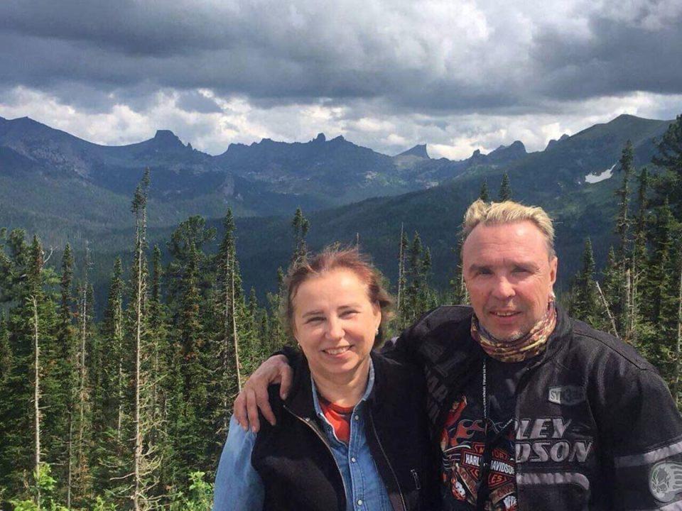 Гарик Сукачев   с женой