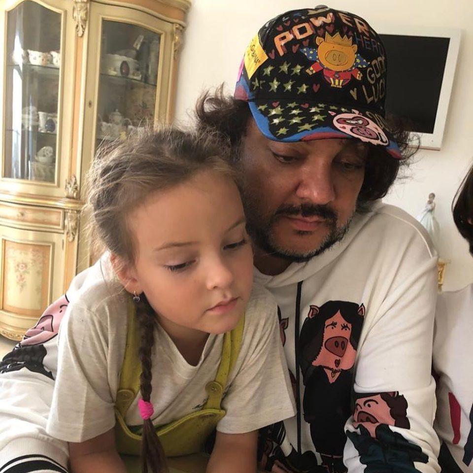 ФИлипп Киркоров с дочкой Аллой Викторией