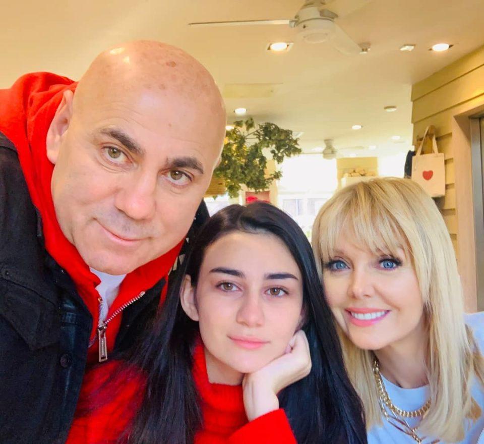 Иосиф Пригожин, Валерия и Лиза провели выходные в Лондоне