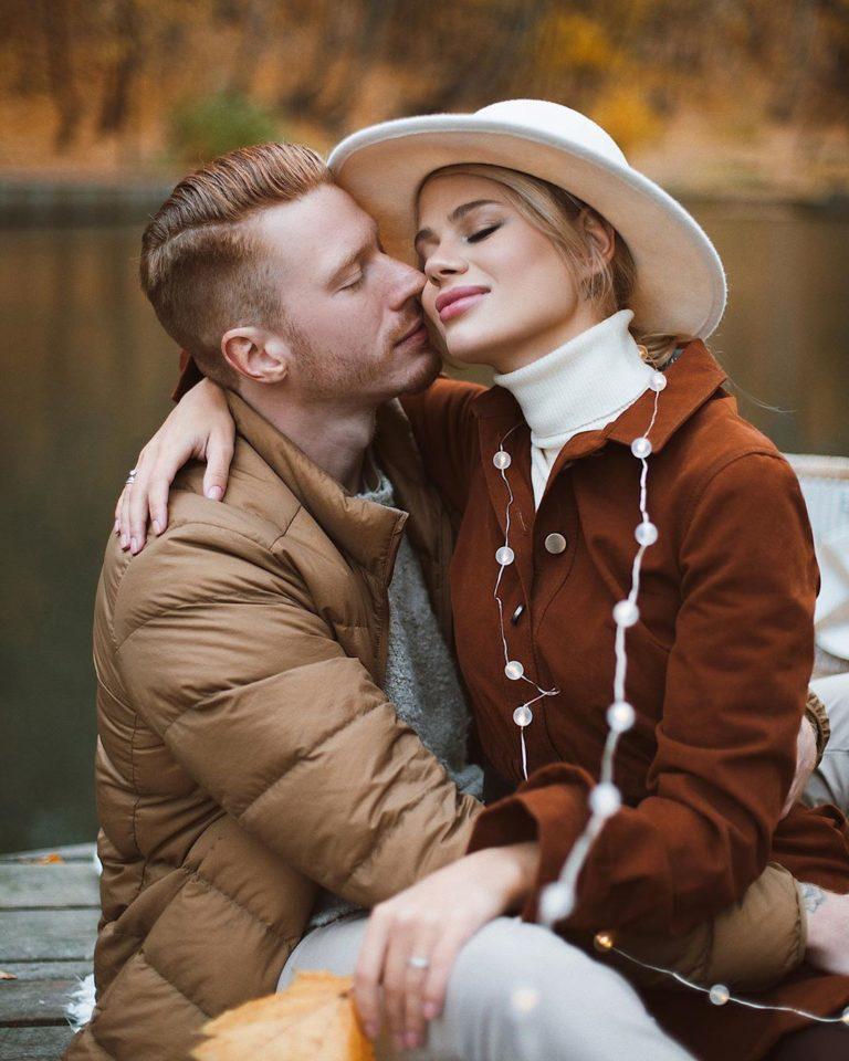 Никита Пресняков показал осенние романтические фото с красавицей-женой