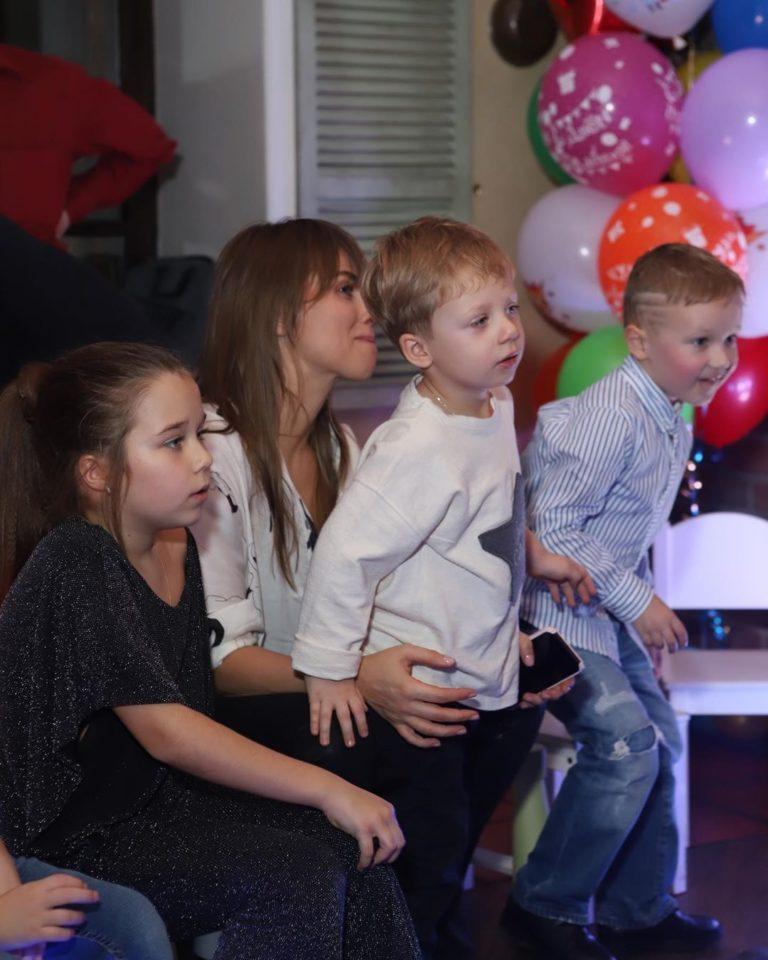 На Дне рождения сына Юлии Беретты