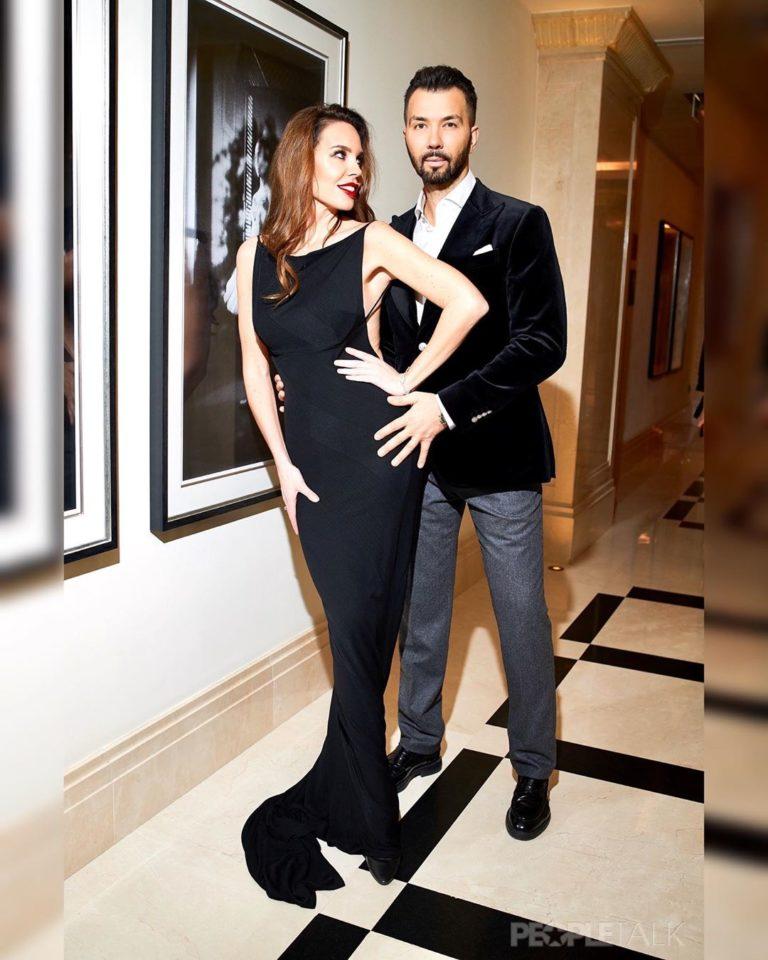 Денис Клявер похвастался своей красавицей-женой