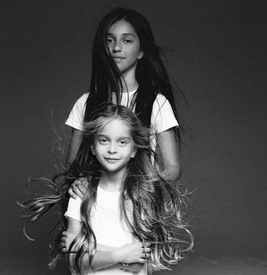 Александр Ревва показал фото своих милых дочек Алисы и Амели