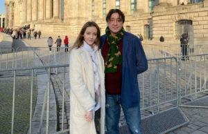 Григорий Лепс показал фото со своей 17-летней дочерью на фоне Рейхстага