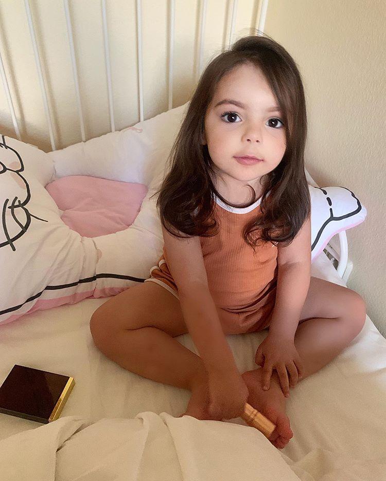 Двухлетняя дочка Анастасии Стоцкой