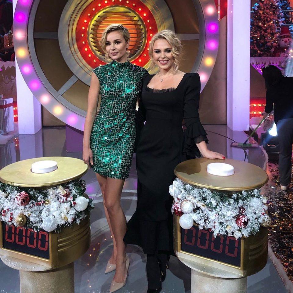 Пелагея и Полина Гагарина снялись в новогоднем выпуске «Угадай мелодию»