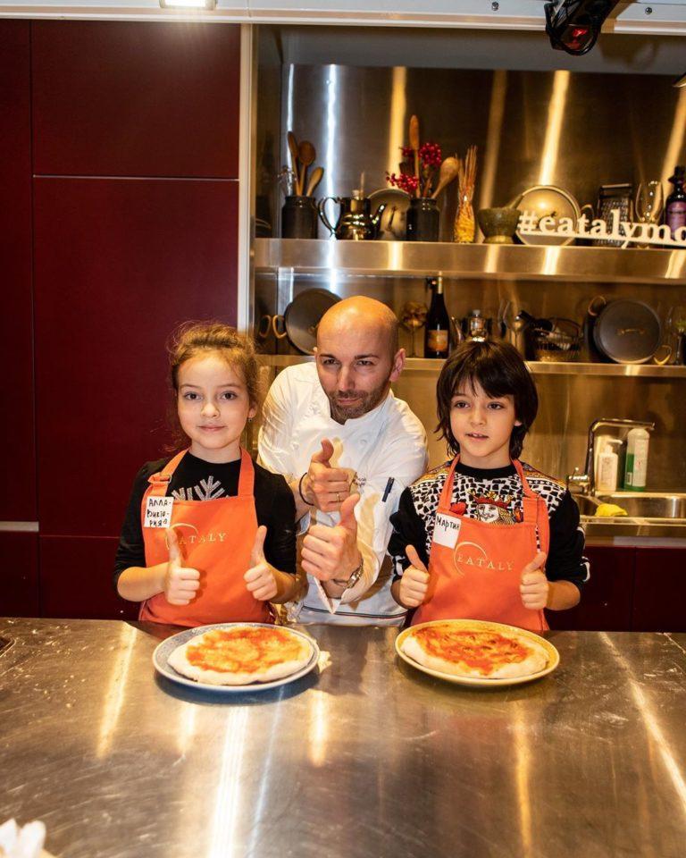 Алла-Виктория и Мартин-Кристин познают секреты итальянской кулинарии