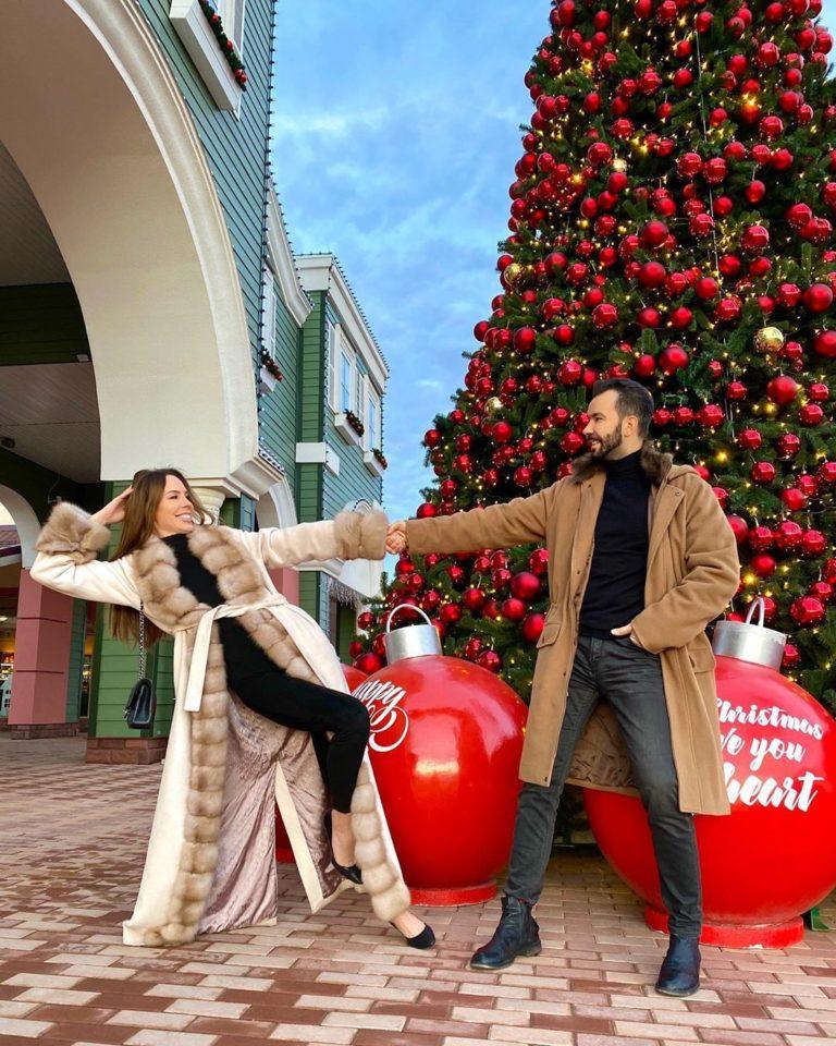 Денис Клявер танцует с женой Ириной