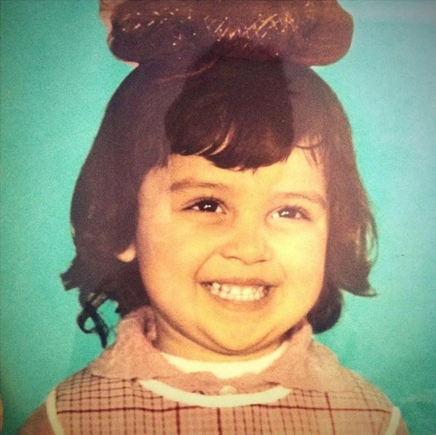 Равшана Куркова в детстве
