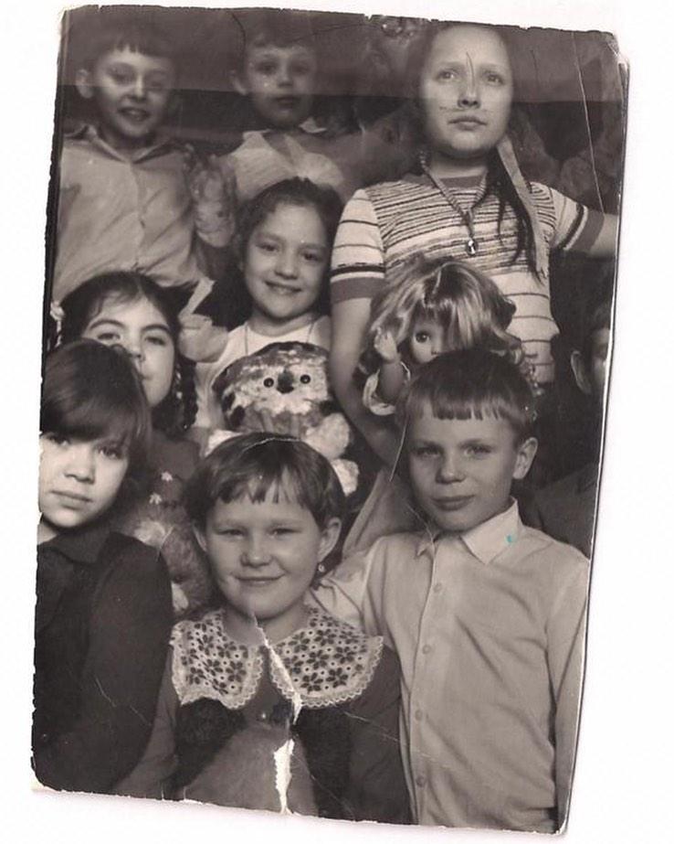Татьяна Буланова с одноклассниками