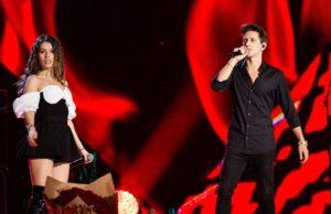 ЮрКисс и Люся Чеботина спели песню «Все не то» на рождественском концерт.