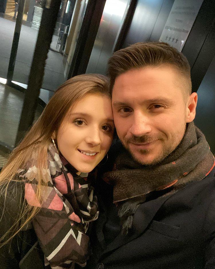 Сергей Лазарев и Алина Лазарева