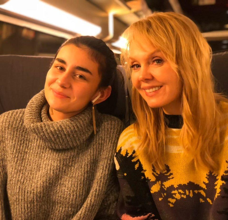 Валерия с дочкой Иосифа Пригожина